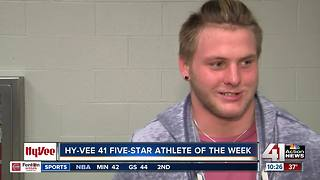 Jax Dineen is the Hy-Vee 41 Five-Star Athlete of the Week - Video