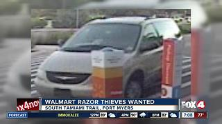 Fort Myers Walmart Razor Thieves Wanted - Video