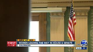 Women are part of a powerful political force at the Colorado legislature - Video