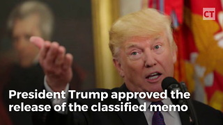 Trump's White House Comes Forward With Details Behind Memo Release - Video