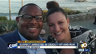 Man arrested for fatal hit-and-run that killed dad