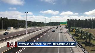 Veterans Expressway Express Lanes Opening This Weekend - Video