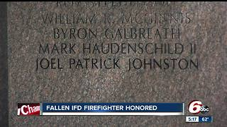 Fallen Indianapolis firefighter honored at ceremony outside Indiana statehouse - Video