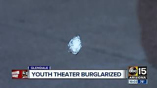 Glendale youth theater targeted by burglars...3 times - Video