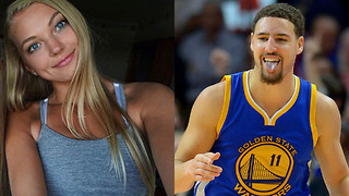 UCLA Volleyball Baddie Sabrina Smith Tries to Slide into Klay Thompson's DMs - Video
