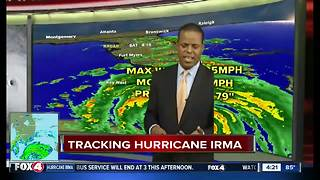 Hurricane Irma - 4pm Saturday update - Video