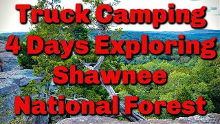 Truck Camping: Four Days Exploring Shawnee National Forest