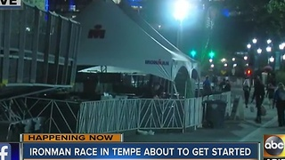 Ironman race in Tempe brings heavy traffic restrictions - Video