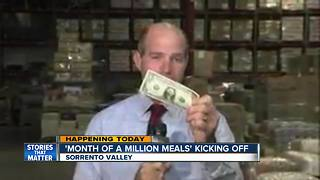 Month of a million meals kicks off - Video