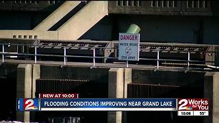 GRDA: lake inflows going down after weekend flooding
