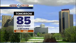 Warm start to the week - Video