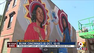 Blink Cincinnati is Oct. 12-15 - Video
