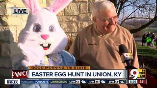 It's Easter Egg Hunt time in Union, Kentucky - Video