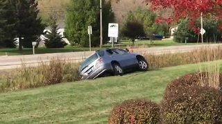 Video shows aftermath of Kenosha County chase - Video