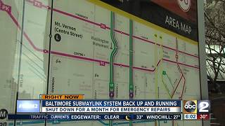 Metro SubwayLink to reopen Friday, passengers ride free through Sunday