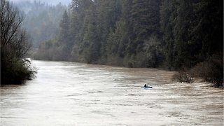 Evacuations In Northern California From River Flooding