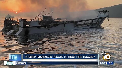 One-time Conception passenger speaks on tragic boat fire