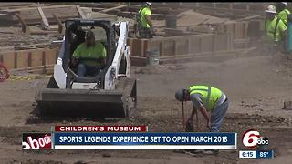 Sports Legends Experience set to open in March 2018 - Video