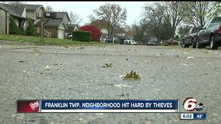Dozens of vehicles broken into in Franklin Towship - Video