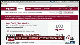Equifax: Criminals accessed personal info of 143 mil US consumers - Video