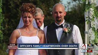 Family of fallen officer speaks out as manhunt for suspect continues - Video