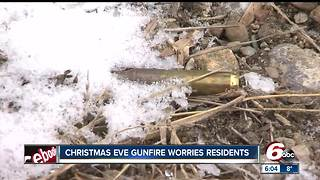 Residents woken by Christmas Eve gunfire - Video