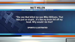 Matt Millen reflects on poor drafting with Lions - Video