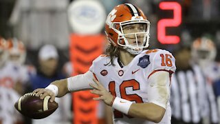 Clemson's Trevor Lawrence Tests Positive For COVID-19