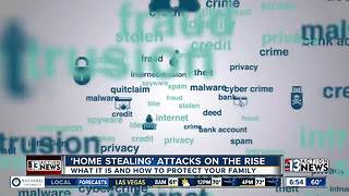 Tips on how to prevent from falling victim to 'Home Stealing' - Video