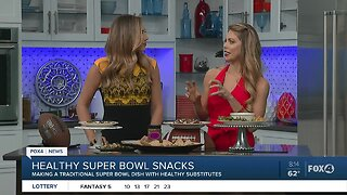 Healthy Super Bowl food alternatives with Betsy Opyt