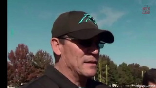 Panthers Coach Ron Rivera On Charles Johnson Suspension - Video