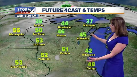 Clear and cool Tuesday night