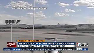 New video of 2015 plane fire shows passengers evacuated - Video