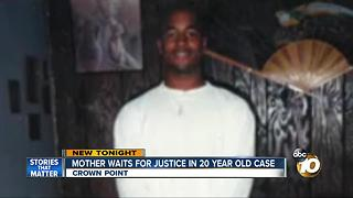 Mother waits for justice in 20 year cold case - Video
