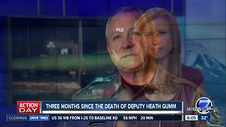 3 months since Deputy Heath Gumm was killed - Video