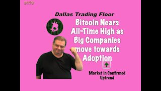 Bitcoin is Up Again, have we started a new Move Higher? - Dallas Trading Floor #179