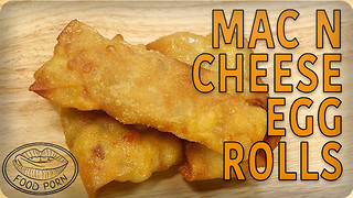 National Macaroni Day recipe: Mac & Cheese egg rolls - Video