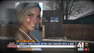 NWMSU student dies after car hits bar - Video