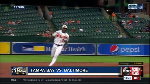 Baltimore Orioles set mark for home runs allowed in late-night loss to Tampa Bay Rays