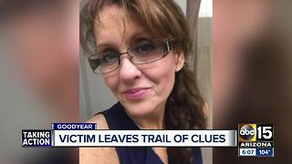 Kidnapping victim leaves trail of clues before escaping capture - Video