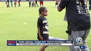Cre'von Leblanc's 3rd annual Strap 4 It Youth Football Camp