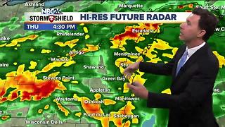 Michael Fish's NBC26 afternoon forecast - Video