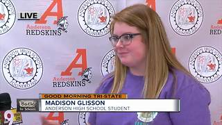 Anderson High School link crew talks about freshman orientation - Video