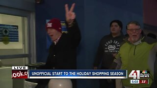 Unofficial start to the holiday shopping season
