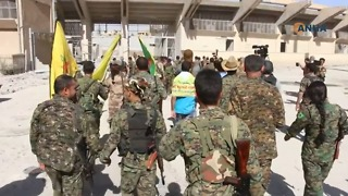 SDF Troops Celebrate Victory at Sites of Hard-Fought Battles in Raqqa - Video