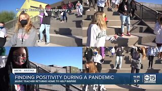 Finding positivity during a pandemic