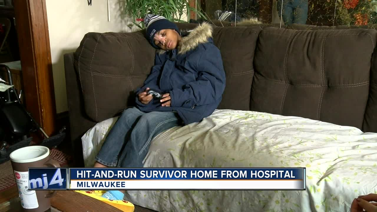 """A long road to recovery and stability:"" Hit-and-run survivor returns home from the hospital"