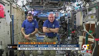 Astronaut Scott Kelly chats with Craig McKee - Video