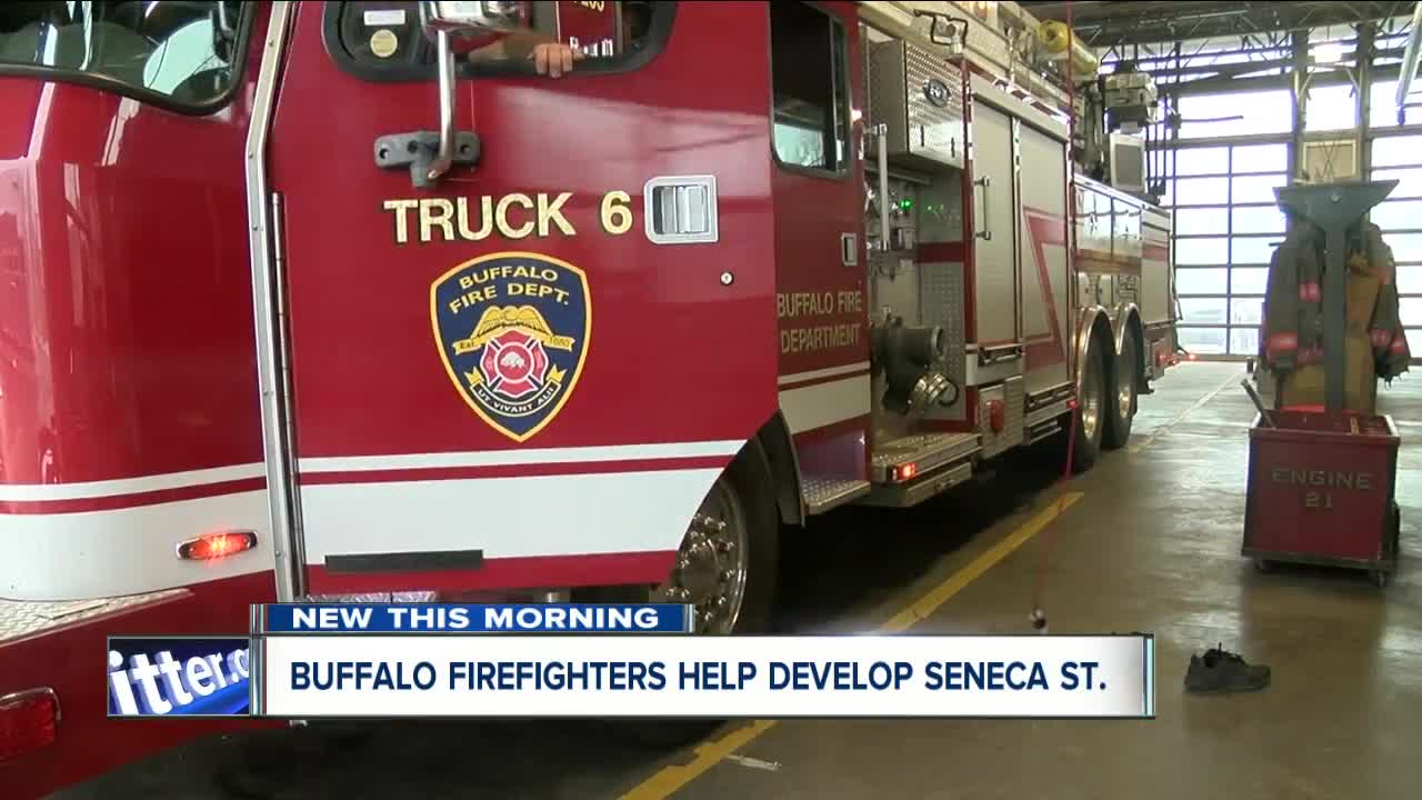 Firefighters focus on developing South Buffalo street