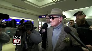 Roger Stone is expected to plead not guilty in court appearance